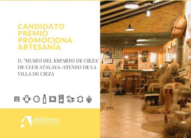 El Museo del Esparto de Cieza, finalista en los Premios Regionales de Artesanía - 1, Foto 1