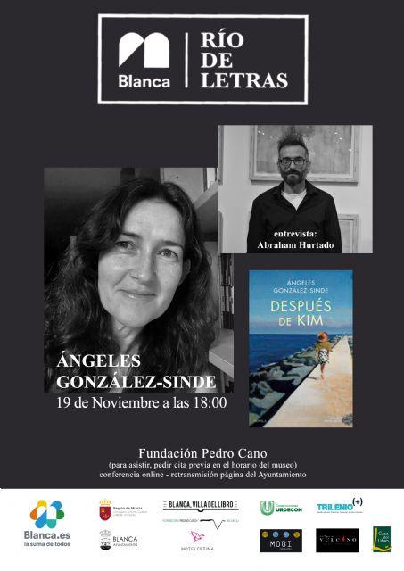 Comienza el ciclo literario ´Río de Letras´ con Ángeles González-Sinde - 1, Foto 1