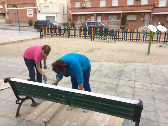 Realizan trabajos de repintado para la revalorización de los espacios públicos, con una inversión de 7.652 euros - 2, Foto 2