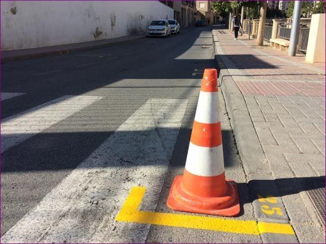 Realizan trabajos de repintado para la revalorización de los espacios públicos, con una inversión de 7.652 euros - 4, Foto 4
