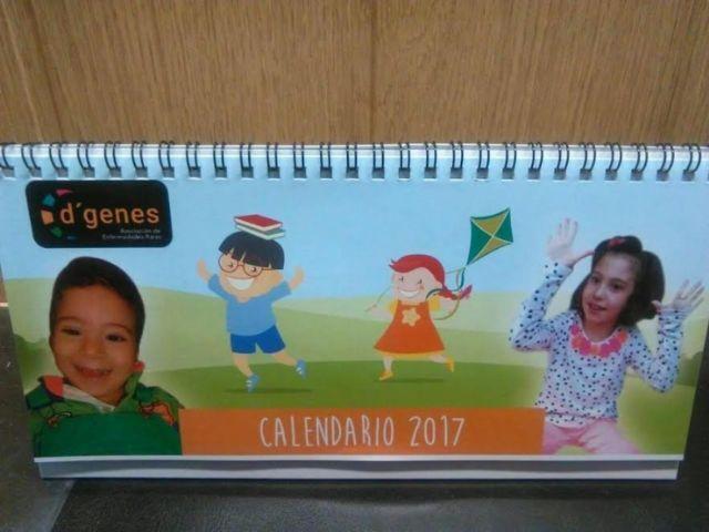 Ya está a la venta el Calendario D´Genes 2017 - 1, Foto 1