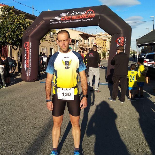 Edu Lucas, of the Totana Athletics Club, participates in the Race of El Raal