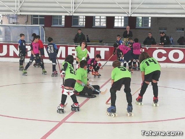 El equipo Benjam�n del Club Hockey Patines de Totana, en la Liga de la Federaci�n Valenciana, Foto 3
