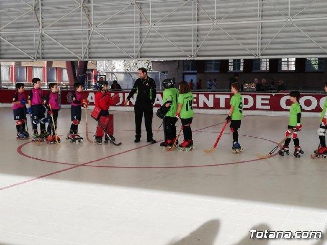 El equipo Benjam�n del Club Hockey Patines de Totana, en la Liga de la Federaci�n Valenciana, Foto 4