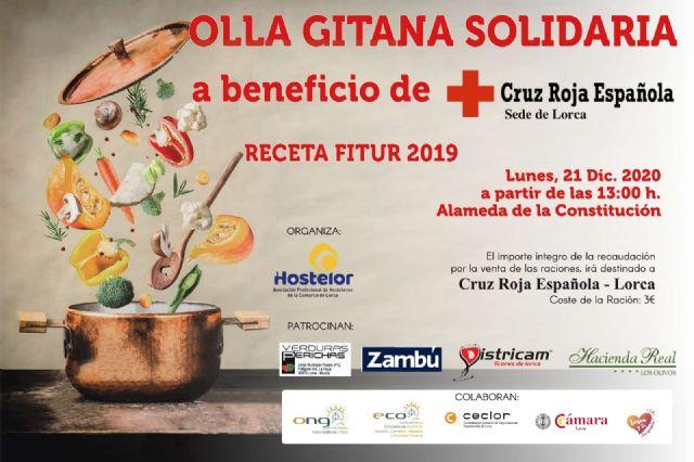 El Ayuntamiento de Lorca colabora en la iniciativa 'Olla Gitana Solidaria' puesta en marcha por Hostelor a beneficio de las familias más necesitadas - 2, Foto 2