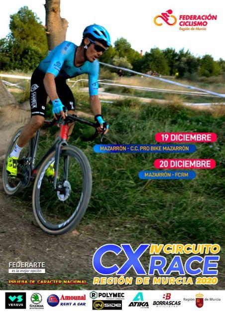 Mazarrón acoge las últimas pruebas del IV circuito CX Race 'Región de Murcia' de ciclismo, Foto 1