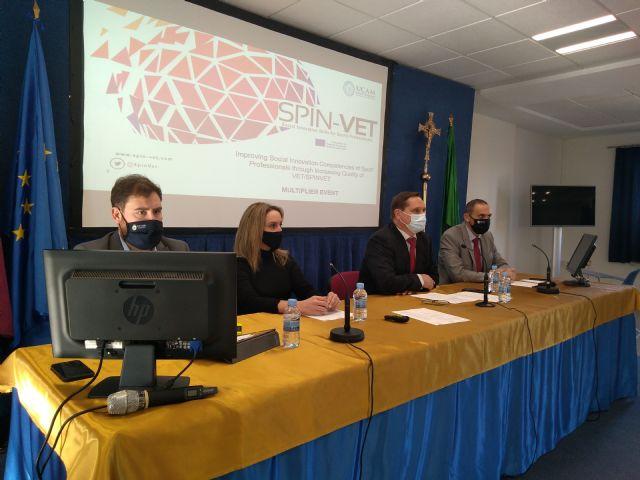 UCAM Cartagena presenta una plataforma europea de formación para la innovación social en el deporte - 1, Foto 1