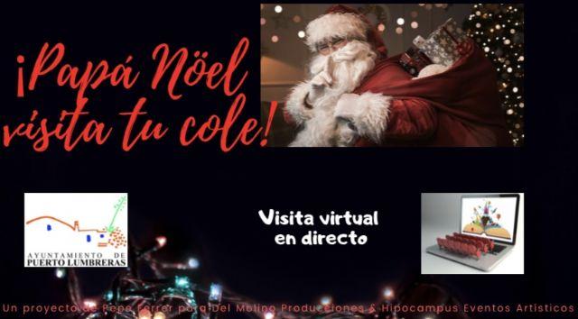 Los colegios de Puerto Lumbreras se preparan para recibir la visita virtual de Papá Noel este jueves y viernes - 2, Foto 2