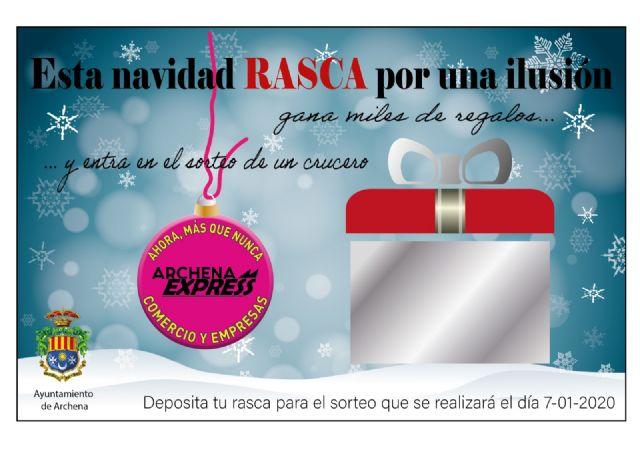 La Alcaldesa de Archena y la asociación de comercios 'Archena Express' presentan la campaña de Navidad 'Rasca por una ilusión' - 1, Foto 1