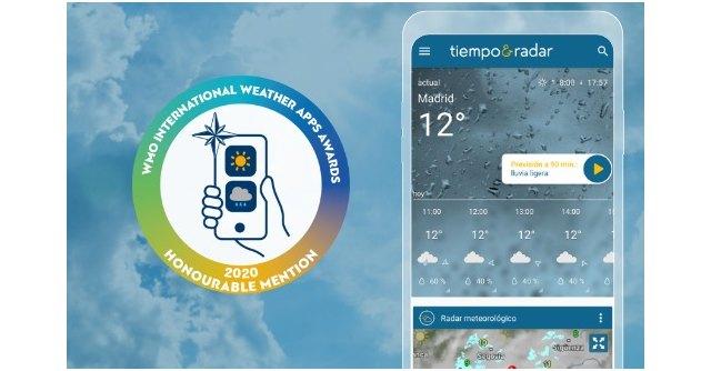 Tiempo & Radar, premiada por la Organización Meteorológica Mundial - 1, Foto 1