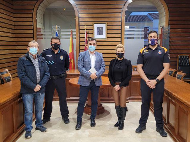 Campos del Río recibirá el próximo año casi 90.000 euros del Programa de ayudas a policías locales de la Comunidad - 1, Foto 1