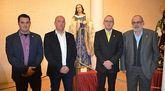 La imagen de Santa María Magdalena de Totana participa en la exposición Santa María Magdalena, 135 años de esplendor