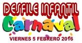 Mañana viernes tendr� lugar el carnaval infantil por las calles de Alhama.
