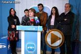 Rueda de prensa PP Totana PGOM y actualidad política