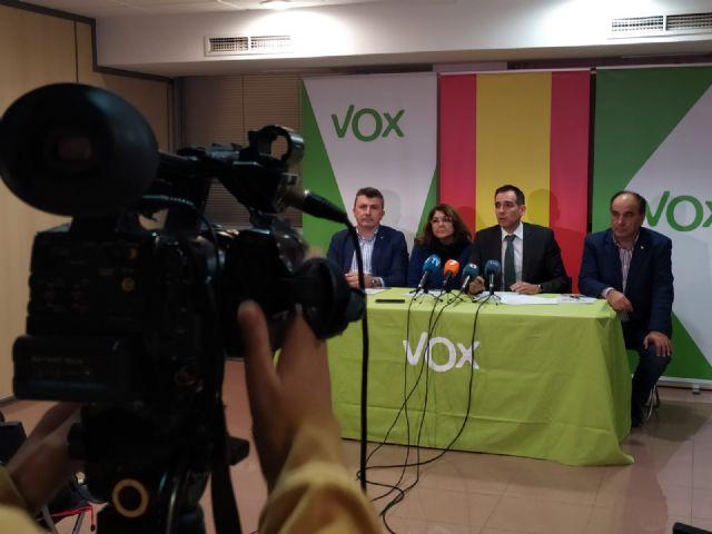 VOX desbloquea los presupuestos en la Región de Murcia e introduce el PIN parental - 1, Foto 1