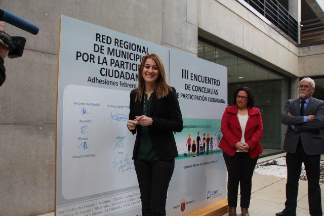 El Ayuntamiento de Alhama de Murcia se ha adherido esta mañana a la Red Regional de Municipios por la Participación Ciudadana, Foto 3