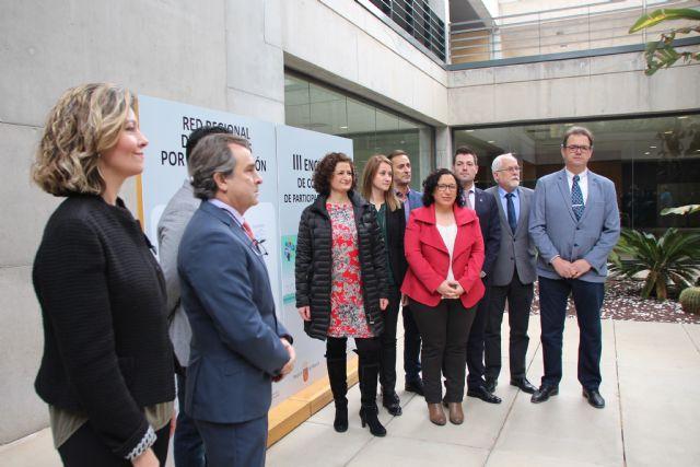 El Ayuntamiento de Alhama de Murcia se ha adherido esta mañana a la Red Regional de Municipios por la Participación Ciudadana, Foto 4