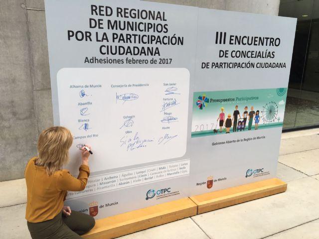 Campos del Río se adhiere a la Red de Municipios por la Participación Ciudadana - 2, Foto 2