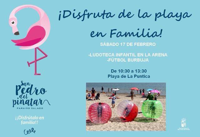 Disfruta de la playa en familia comienza en San Pedro del Pinatar - 1, Foto 1