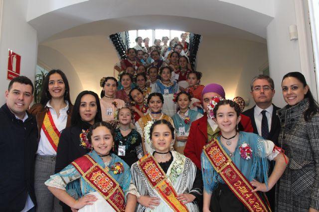 Las candidatas infantiles a Reina de la Huerta celebran hoy una jornada de convivencia en Puerto Lumbreras - 1, Foto 1