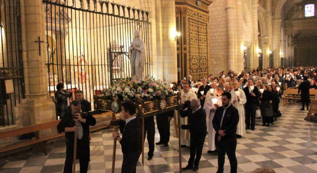 La Hospitalidad celebró ayer la fiesta de la Virgen de Lourdes - 1, Foto 1