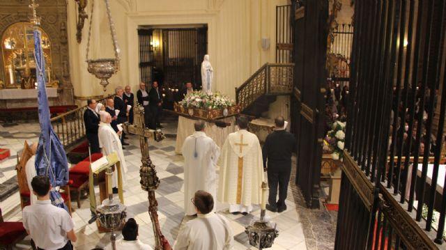 La Hospitalidad celebró ayer la fiesta de la Virgen de Lourdes - 2, Foto 2