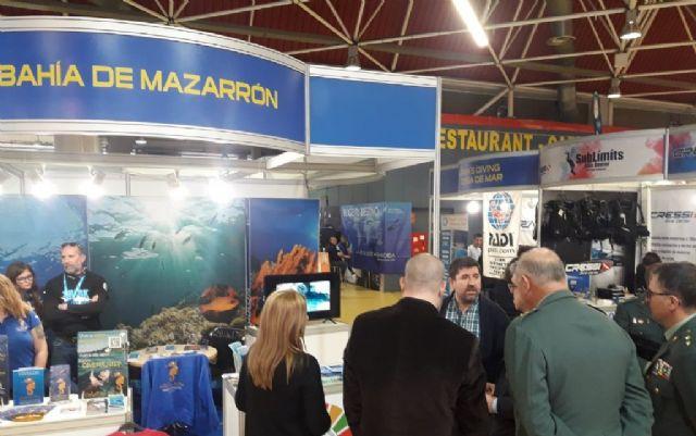 Mazarrón presente en la feria ´M editerránea diving show´ de Cornellá de Llobregat - 3, Foto 3