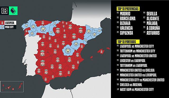 España, con el corazón dividido entre Liverpool y Manchester City - 1, Foto 1