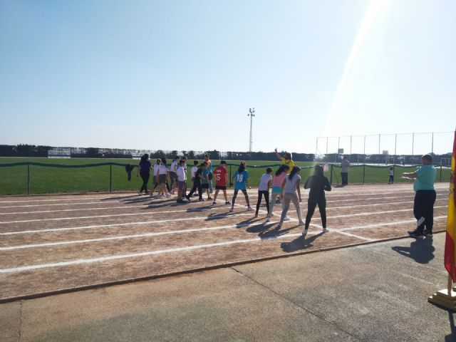 The CAT collaborated in the Local Phase of Athletics in School Age and participated in the V Vrutrail