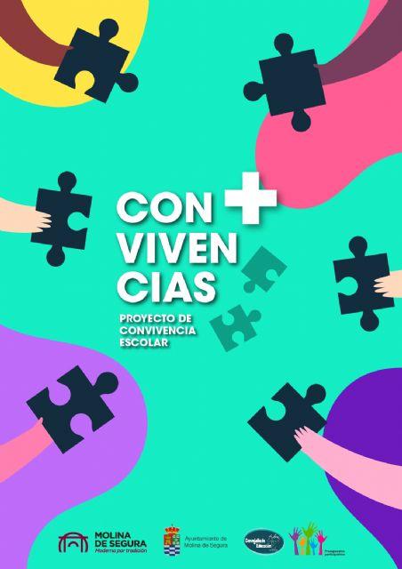 El Ayuntamiento de Molina de Segura pone en marcha este mes el Proyecto de Convivencia Escolar CON+VIVENCIAS en centros educativos - 1, Foto 1