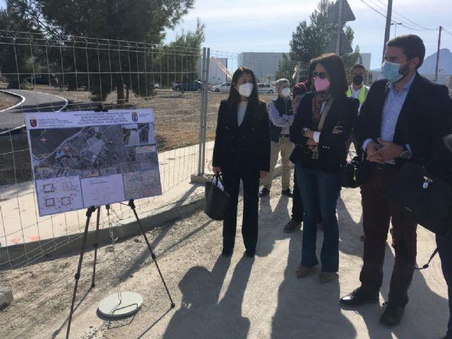 La Comunidad construye un nuevo colector para acortar el recorrido de aguas residuales de Ascoy hasta la EDAR de Cieza - 1, Foto 1
