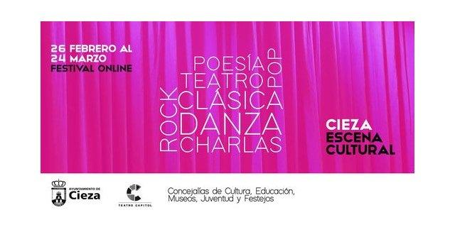 La Concejalía de Cultura presenta el festival online Cieza Escena Cultural - 1, Foto 1