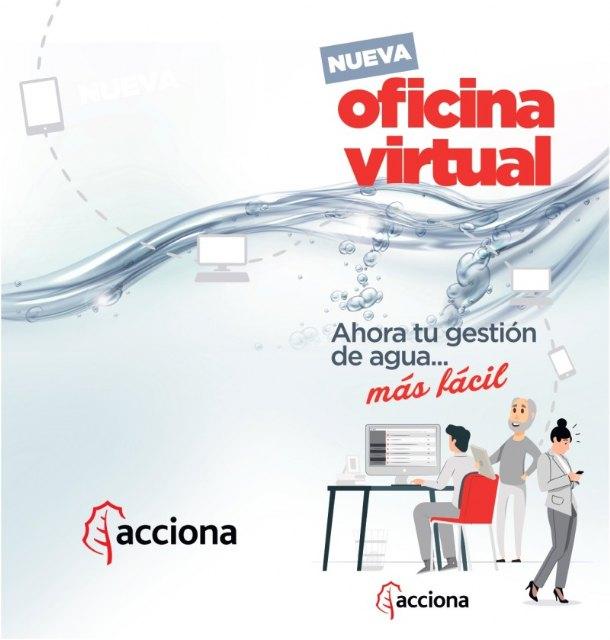 Acciona pone en marcha su nueva oficina virtual para la gestión del servicio municipal de aguas de Ricote - 1, Foto 1