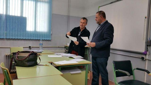 El alcalde se reúne con el claustro del Centro de Educación de Adultos del Bajo Guadalentín - 2, Foto 2