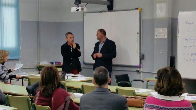 El alcalde se reúne con el claustro del Centro de Educación de Adultos del Bajo Guadalentín - 4, Foto 4