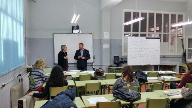El alcalde se reúne con el claustro del Centro de Educación de Adultos del Bajo Guadalentín - 5, Foto 5