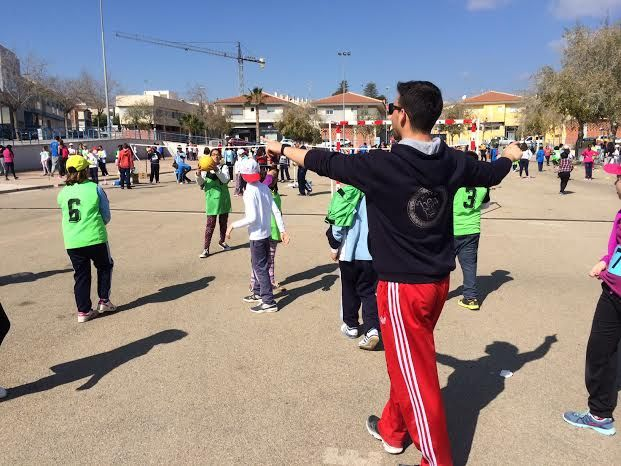 More than 550 students in grades 5 Primary and ESO 1 of all schools in Totana participate in the Day of Popular Games