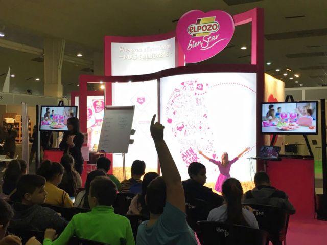 ElPozo BienStar promueve hábitos saludables entre los asistentes a la feria Expomed Salud, Foto 1