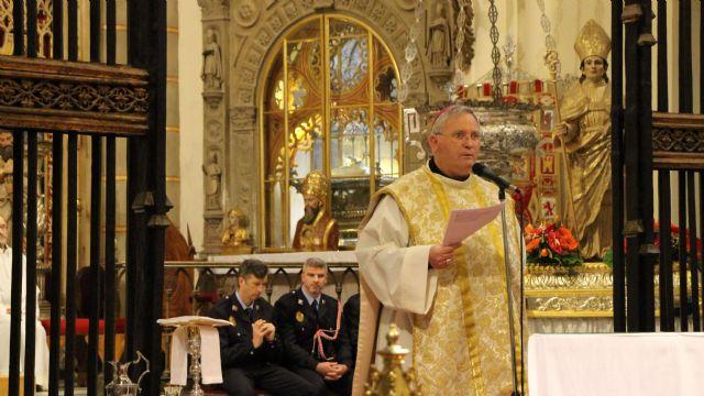 El Obispo agradece la labor de la Policía Local en el día de su patrón 2017 - 4, Foto 4