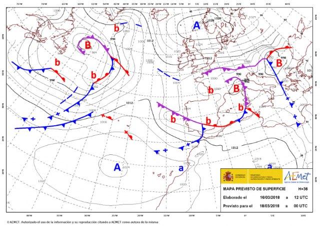 Protección Civil de Totana informa que vuelven las lluvias y el tiempo invernal - 3, Foto 3