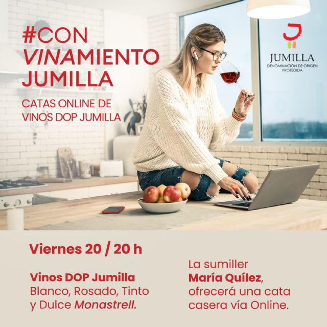JUMILLA / La DOP Jumilla prepara Catas online desde casa para ...