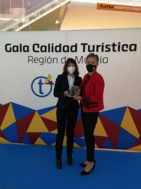 Calasparra distinguida por su calidad turística en la I gala de calidad turística Región de Murcia - 2, Foto 2