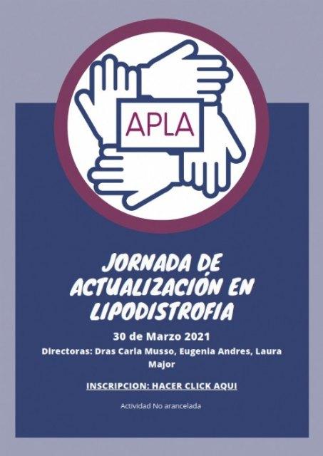 AELIP participará en una jornada formativa online sobre Lipodistrofias Organizada por la Asociación de Pacientes con Lipodistrofia en Argentina
