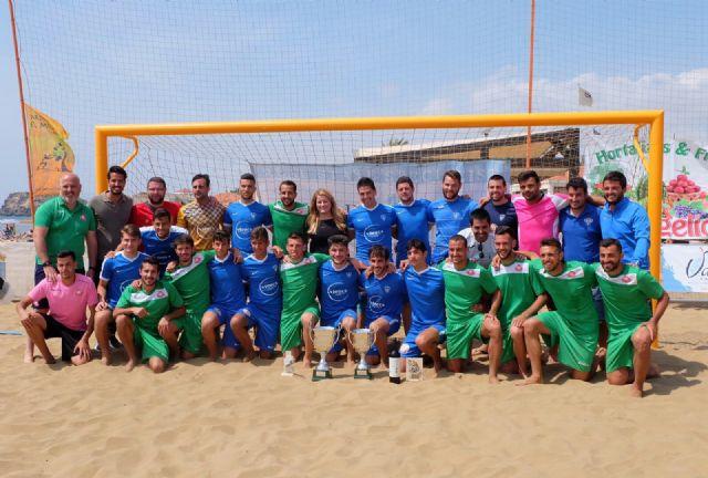 El Melistar de Melilla se lleva el I campeonato de fútbol playa organizado por el CD Playas de Mazarrón, Foto 1