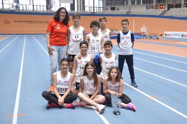 Los atletas del Club Atletismo Alhama contribuyen al éxito de la selección murciana, Foto 1