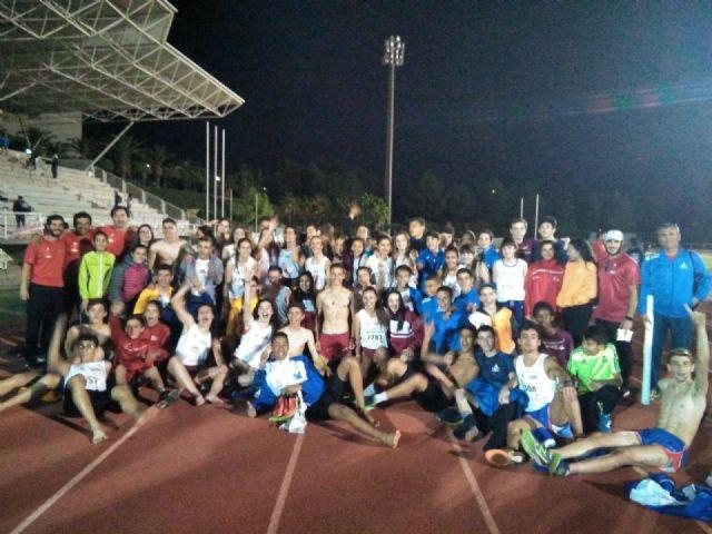 Los atletas del Club Atletismo Alhama contribuyen al éxito de la selección murciana, Foto 2