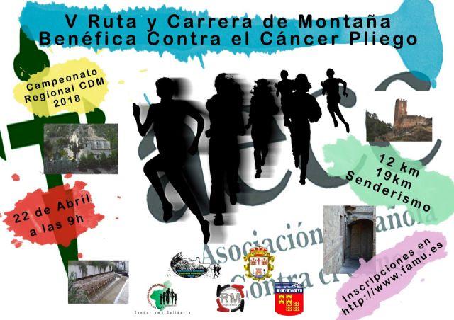 Se espera una gran movilización en Pliego para la Carrera Benéfica contra el cáncer de este domingo - 1, Foto 1