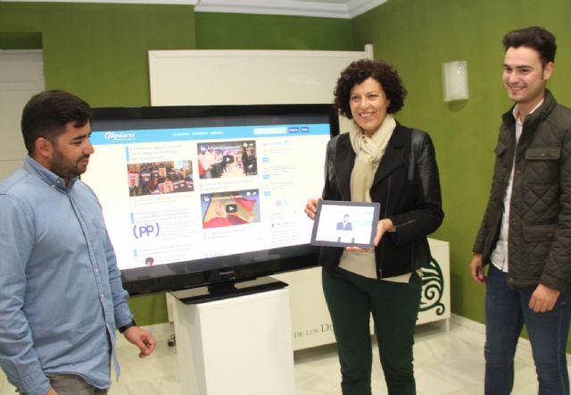 El Partido Popular de Puerto Lumbreras estrena nueva página web - 1, Foto 1