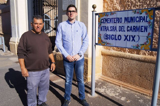 "The maintenance service of the Municipal Cemetery ""Nuestra Señora del Carmen"" is extended one more year"