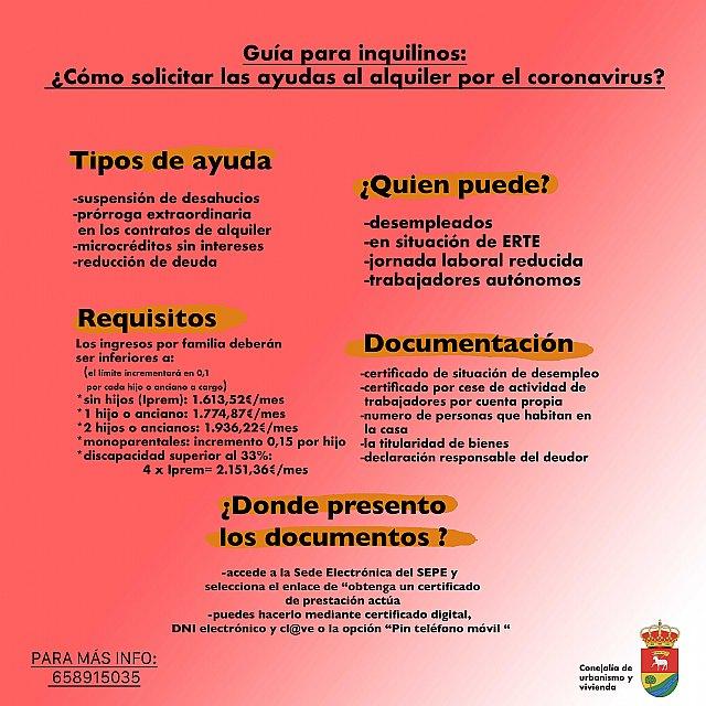 Guía para inquilinos: ¿cómo solicitar las ayudas al alquiler por el coronavirus? - 1, Foto 1